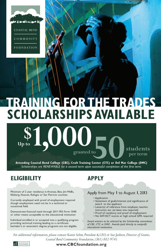 Training for the Trades Poster